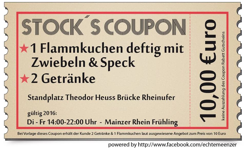 coupon frühlings fest